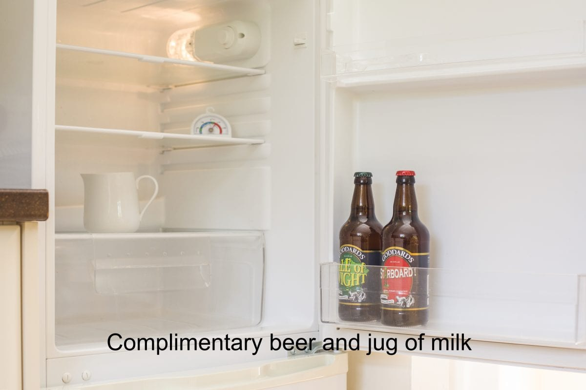 18. complimentary beer