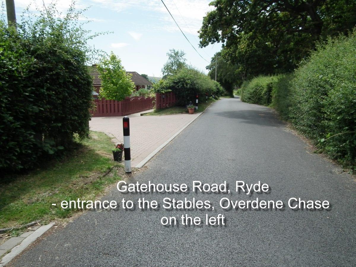 entrance to Overdene