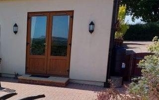 Alternative Entrance door