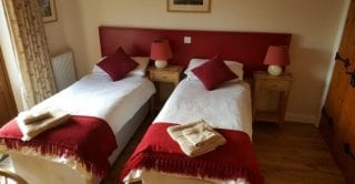 Cottage 3 Bedroom as twin beds