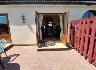 Cottage 3 Patio Back door